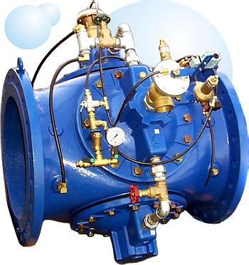 Регулирующие клапана Dorot (Дорот) для предотвращения гидроударов